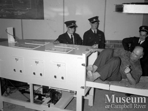 Campbell River Fire Department with new Iron Lung