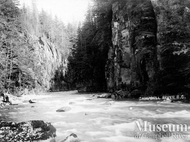 The Campbell River, below Elk Falls