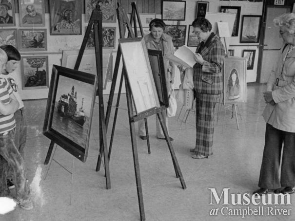 Campbell River Arts Council Showcase 75