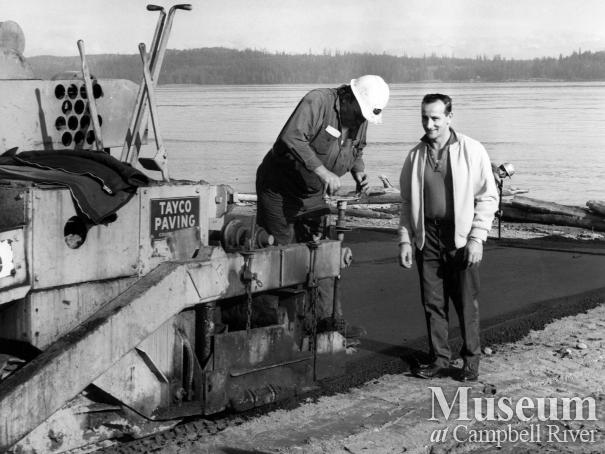Fish and Wildlife boat ramp on Tyee Spit is paved