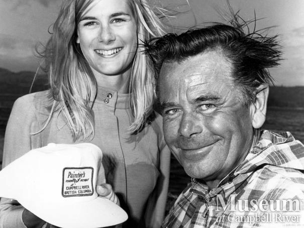 Glenn Ford and Daphne Corbett