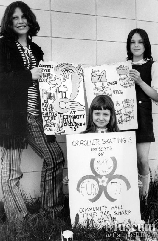 Roller skating poster contest