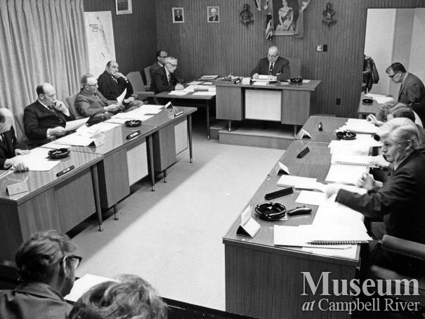 Campbell River's Municipal Council meeting
