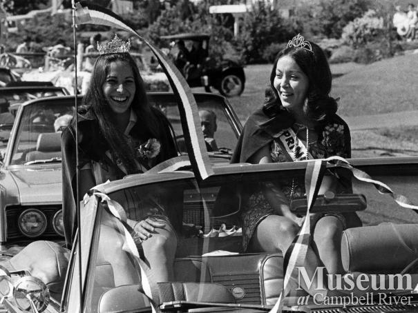 Salmon Festival Parade, 1971.