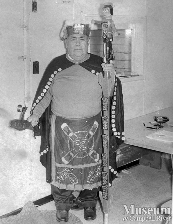 Chief Jim King, 1971.